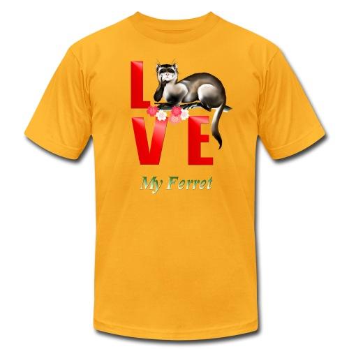 Love Ferret - Men's Fine Jersey T-Shirt