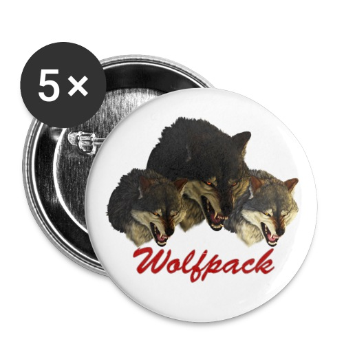 Wolfpack Button - Large Buttons