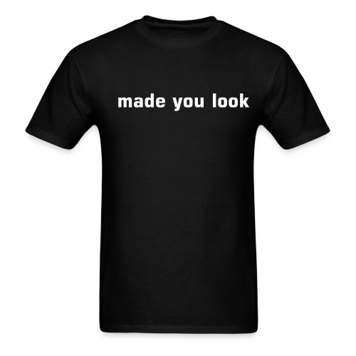 qoop look- mens - Men's T-Shirt