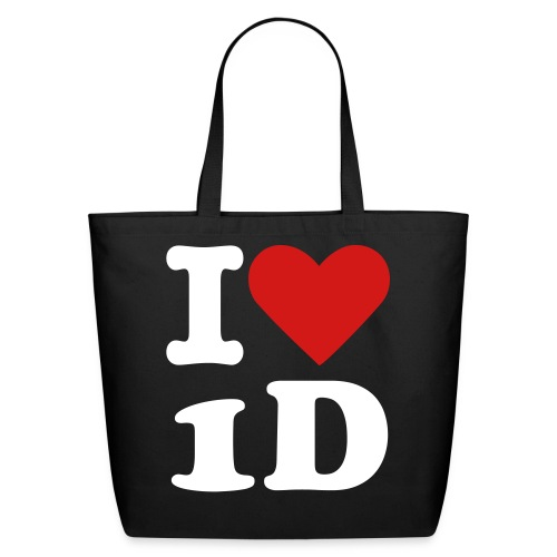 I Heart 1D Tote Bag - One Direction  - Eco-Friendly Cotton Tote