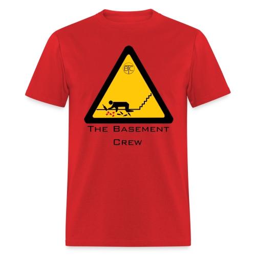 The Basement Crew Caution T-Shirt - Men's T-Shirt