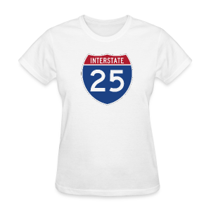 Interstate 25 - Ladies - Women's T-Shirt