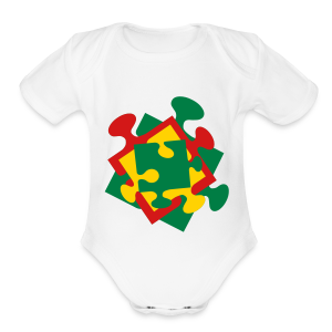 Autism - Short Sleeve Baby Bodysuit