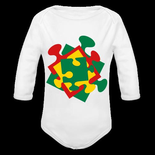 Autism - Organic Long Sleeve Baby Bodysuit