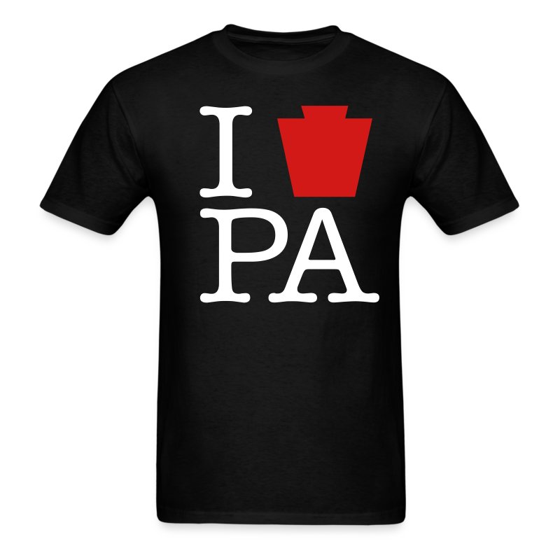 I Keystone PA - Men's T-Shirt