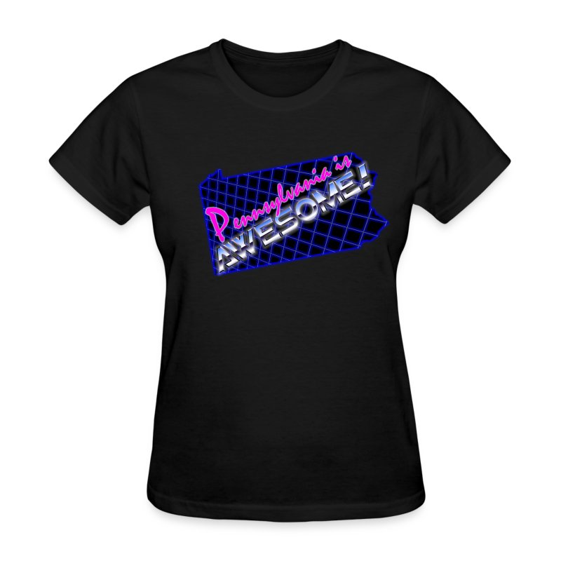 Pennsylvania Is Awesome Girl Shirt (Slim Fit) - Women's T-Shirt