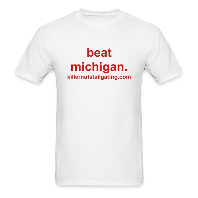 beat michigan.
