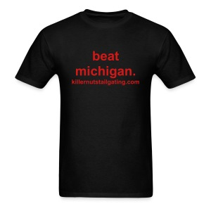 beat michigan. - Men's T-Shirt