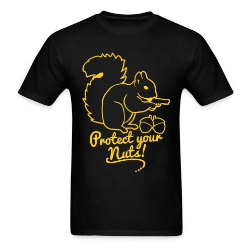 protect your nuts tee - Men's T-Shirt