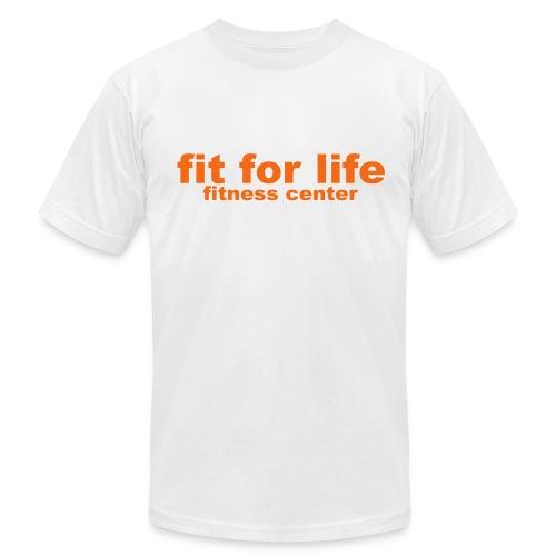 Classic White FFL T-Shirt - Men's Fine Jersey T-Shirt