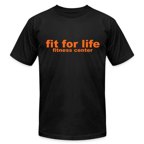 Classic Black FFL T-Shirt - Men's Fine Jersey T-Shirt