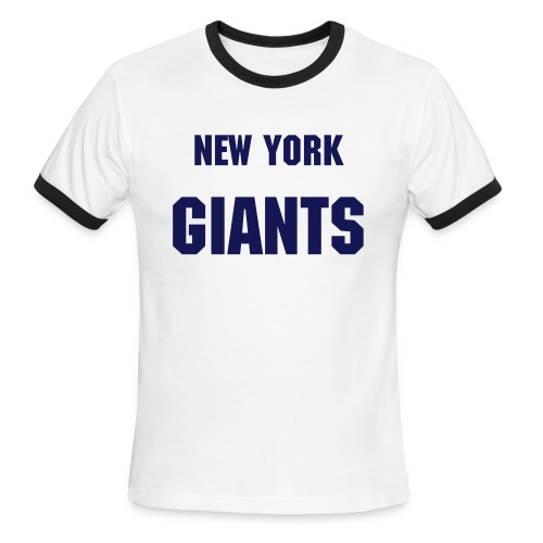 NY Giants - Men's Ringer T-Shirt