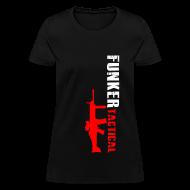 T-Shirts ~ Women's T-Shirt ~ woman's funker tactical scar t-shirt