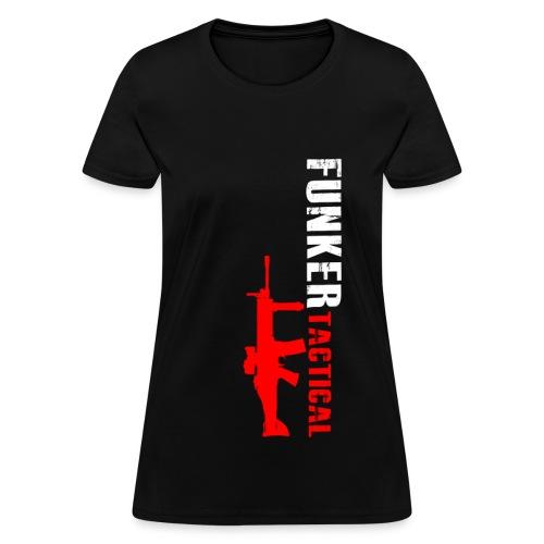 woman's funker tactical scar t-shirt - Women's T-Shirt