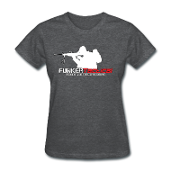 Women's T-Shirts ~ Women's T-Shirt ~ woman's Funker Tactical Full Logo t-shirt
