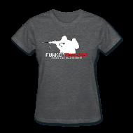 Women's T-Shirts ~ Women's T-Shirt ~ woman's Funker Tactical Full Logo t-shirt
