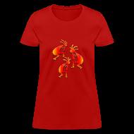 Women's T-Shirts ~ Women's T-Shirt ~ Three Kokopelli #3
