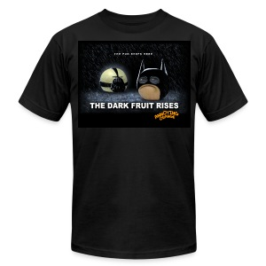 Annoying Orange Dark Knight Mens AA T-shirt - Men's T-Shirt by American Apparel