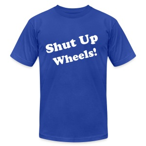 Wheels - Men's T-Shirt by American Apparel