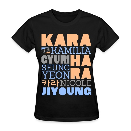[KARA] Members and Fans - Women's T-Shirt