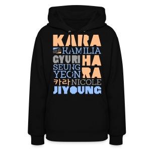 [KARA] Members and Fans - Women's Hoodie