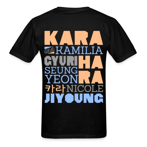 [KARA] Members and Fans - Men's T-Shirt