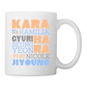 [KARA] Members and Fans - Coffee/Tea Mug