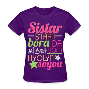 [SISTAR] The Sistars - Women's T-Shirt