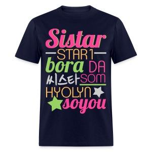 [SISTAR] The Sistars - Men's T-Shirt