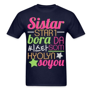 [SISTAR] The Sistars - Men's T-Shirt