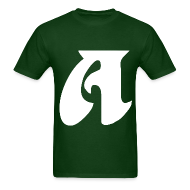 T-Shirts ~ Men's T-Shirt ~ A (A in Eagles)