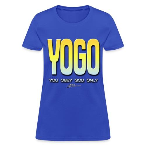 YOGO - Women's T-Shirt