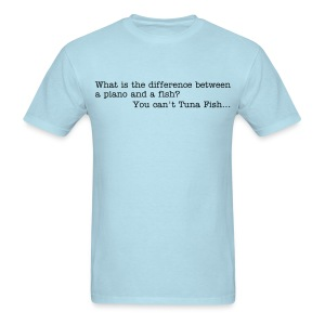 Tuna Fish Joke - t-shirt - Men's T-Shirt