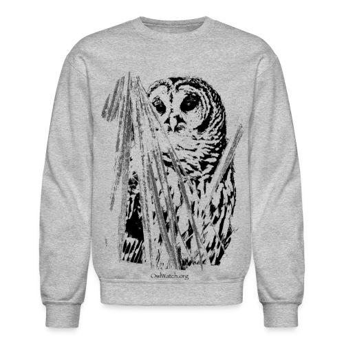 Owl & Palms - Crewneck Sweatshirt