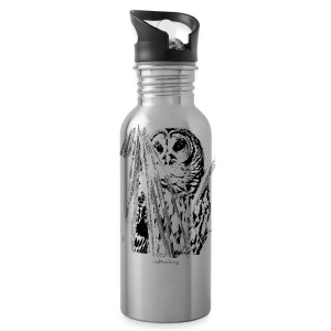 Owl & Palms - Water Bottle