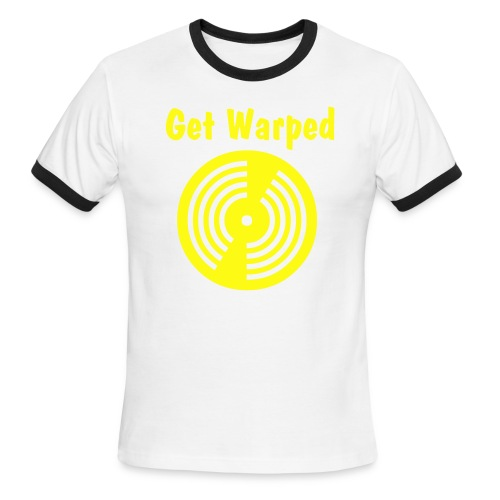 qoop warped - Men's Ringer T-Shirt