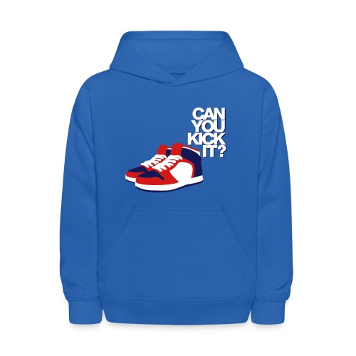 can you kick it? - Kids' Hoodie