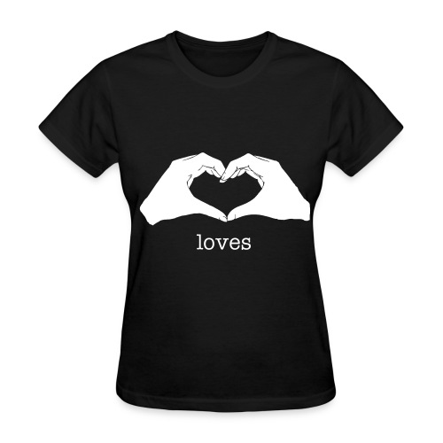 hand heart - Women's T-Shirt