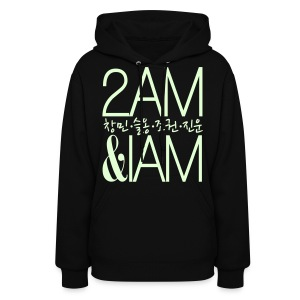 [2AM] IAm 2AM (Glow in the Dark) - Women's Hoodie