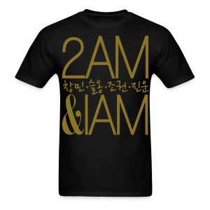 [2AM] IAm 2AM (Metallic Gold) - Men's T-Shirt