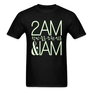 [2AM] IAm 2AM (Glow in the Dark) - Men's T-Shirt