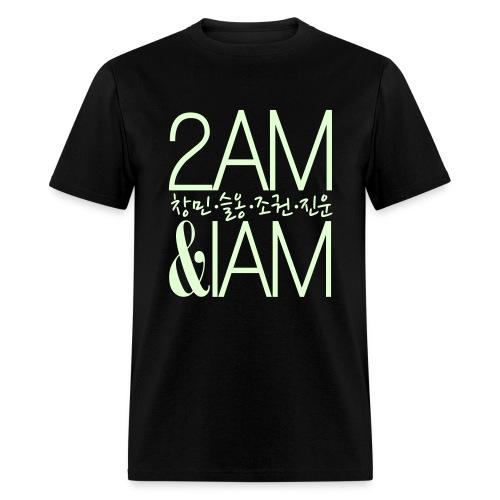 [2AM] IAm 2AM (Glow in the Dark) - Men's T-Shirt
