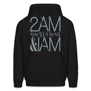 [2AM] IAm 2AM (Metallic Silver) - Men's Hoodie