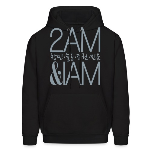 [2AM] IAm 2AM (Metallic Silver) - Men's Hoodie