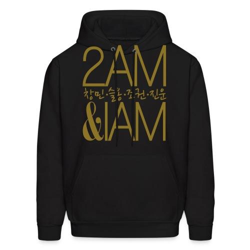[2AM] IAm 2AM (Metallic Gold) - Men's Hoodie