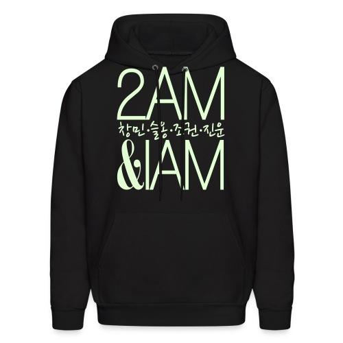 [2AM] IAm 2AM (Glow in the Dark) - Men's Hoodie