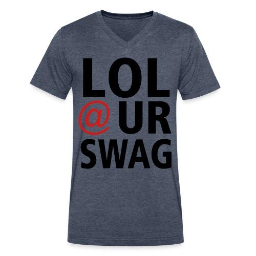LOL at ur swag - Men's V-Neck T-Shirt by Canvas