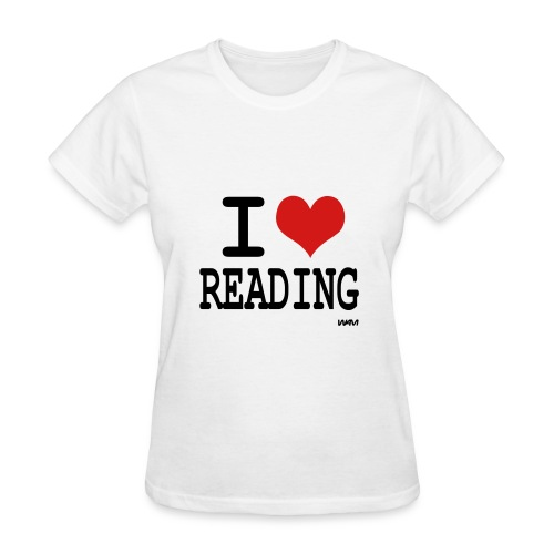 I love Reading - Women's T-Shirt