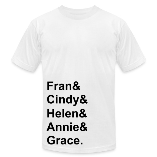 Fav Ladies - Mens American Apparel - Men's Fine Jersey T-Shirt