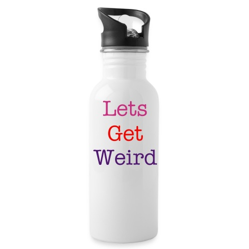 Water Bottle - workaholics,women,weird,water,lets,get,funny,drunk,drinking,college,bottle,alcoholic,alcohol,White,Wasted,Party